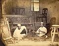 Blackwood carvers at work in India - 1873.jpg