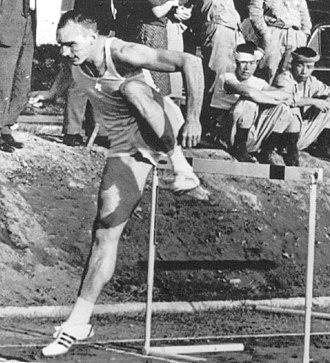 Blaine Lindgren - Lindgren at the 1964 Olympics