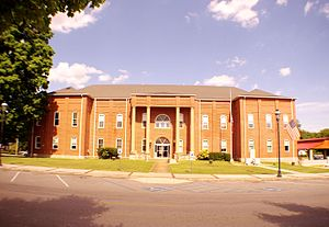 Bledsoe County Courthouse in Pikeville