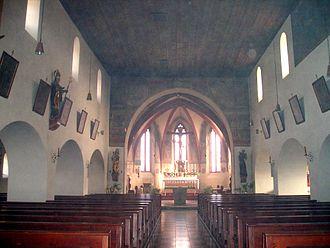 Dollnstein - Image: Blick in die Kirche von Dollnstein im Landkreis Eichstätt