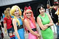 Blossom, Bubbles & Buttercup cosplayers (23488650402).jpg