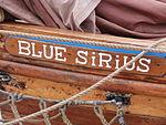 Blue Sirius Name Tallinn 21 July 2013.JPG