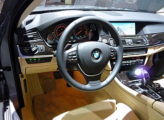 BMW 5 Series (F10) - Interior of a 2010 530d