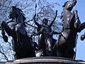 Boadicea's (or Boudicca's) Chariot by Westminster Bridge - geograph.org.uk - 259570.jpg