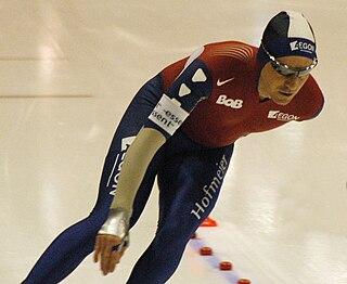 Bob de Jong Dutch speed skater