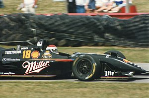 Bobby Rahal - Rahal driving for Team Rahal at Mid-Ohio Sports Car Course in 1996