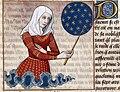 Boccaccio - Faltonia Proba - De mulieribus claris, XV secolo illuminated manuscript.jpg