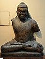 Bodhisattva - Kushana Gupta - 385 AD - Bodhgaya - Bihar - Indian Museum - Kolkata 2012-11-16 1967.JPG