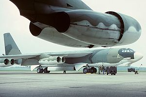 57th Air Division - B-52H Stratofortress of the division's 28th Bombardment Wing