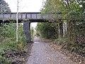 Boiley Lane Bridge seen from the Trans Pennine Trail - geograph.org.uk - 1024842.jpg