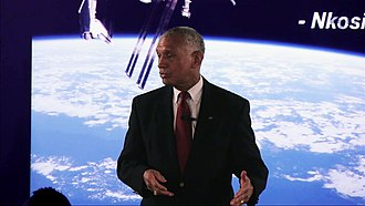42 (school) - Charles F. Bolden from NASA at 42