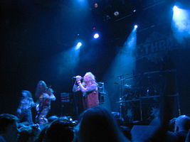 Bolt Thrower koncertas ĉe la metalfestivalo Inferno en 2006.