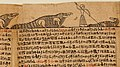 Book of the Dead of the Priest of Horus, Imhotep (Imuthes) MET LC-35 9 20 Crocodiles.jpg