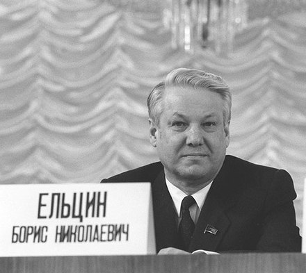 Boris Yeltsin, Russia's first democratically elected President Boris Yeltsin 21 February 1989-1.jpg