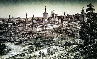 Borovsk - Borovsk Monastery of St. Paphnutius