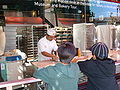 Boudin Bakery, Fisherman's Wharf front window 1.JPG