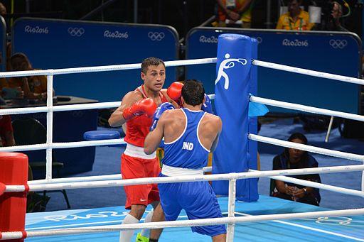 Boxe Preliminares 101kg - Gaibnazarov vs Kumar