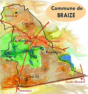 Braize - Map of Braize.