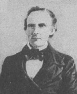 Branch T. Archer Texan who served as Commissioner to the United States and Speaker of the House of the Republic of Texas House of Representatives and Secretary of War of the Republic of Texas