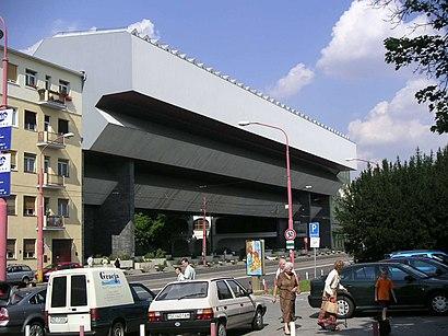 How to get to Slovenská Národná Galéria with public transit - About the place