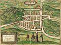 Braun & Hogenberg, Edenburgum, Scotiae Metropolis c.1581.jpg