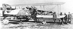 Breguet 14A2 39. Eskadry Breguetów (16. eskadry wywiadowczej) w Kijowie, 1920