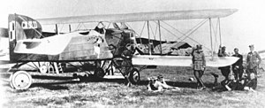 Polish–Soviet War in 1920 - Polish Breguet 14 operating from Kyiv airfield