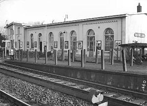 Breukelen railway station - Breukelen railway station in 1967