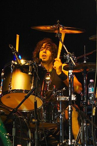 Brian Tichy - Tichy in concert in 2006 Photo: Charles Jischke