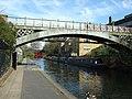 Bridge and narrow boats - geograph.org.uk - 2324832.jpg