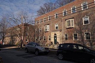 Black Rock Gardens Historic District Area in Bridgeport, Connecticut, US