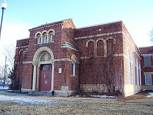 National Register of Historic Places listings in Adams County, Colorado - Image: Brighton High School