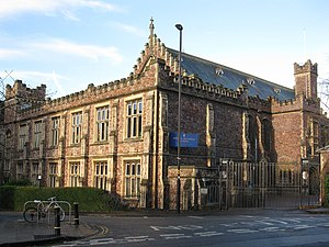 Bristol Grammar School - University Road Entrance