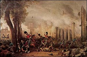 Bristol riots - The 3rd Dragoon Guards violently suppressing the Bristol Riots of 1831