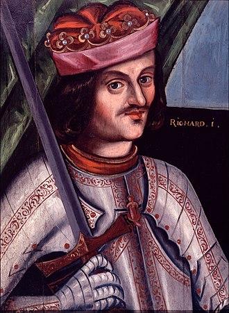 Royal badges of England - Image: British Richard I Google Art Project