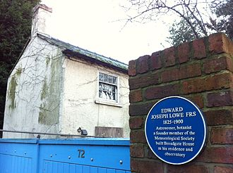 Edward Joseph Lowe - Broadgate House, Beeston, Nottinghamshire. Home of Edward Joseph Lowe