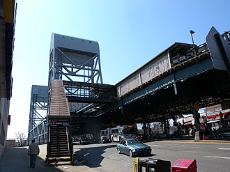 Marble Hill–225th Street (IRT Broadway–Seventh Avenue Line) - Eastern street stair