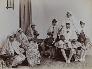 Brooklyn Museum - Harem Scene with Mothers and Daughters in Varying Costumes One of 274 Vintage Photographs.jpg