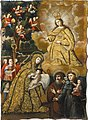 Brooklyn Museum - The Virgin of Mercy with Three Saints - Mauricio García - overall.jpg