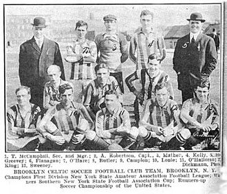 Brooklyn Celtic - The 1913–14 champion team.