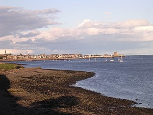 Broughty Ferry from Stannergate, Dundee. The l...