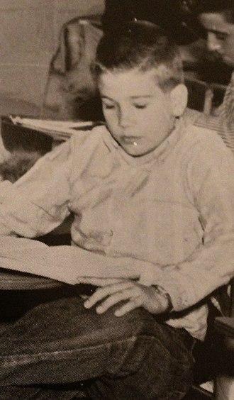 Bruce M. Bolin - Bolin as a freshman at Minden High School  in 1965.