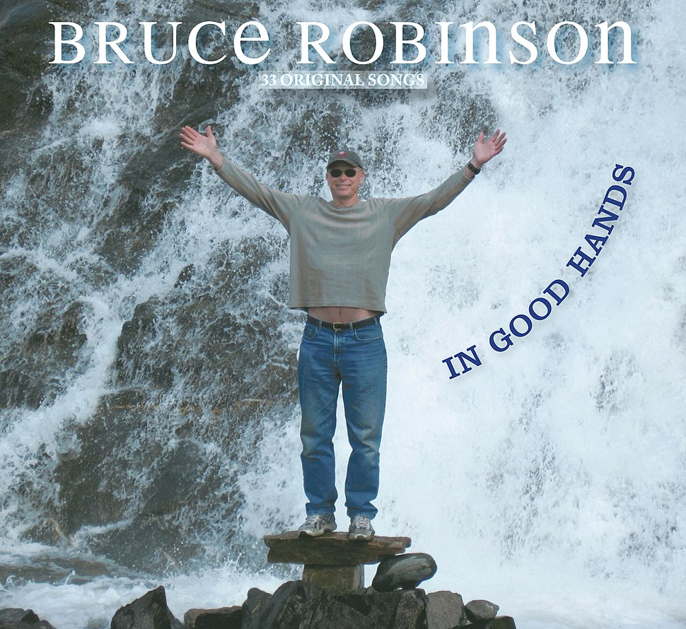 Bruce Robinson CD In Good Hands cover photo