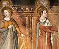 Bruno di giovanni, sante barbara e caterina d'alessandria, san giorgio, 1330 ca. 04.jpg