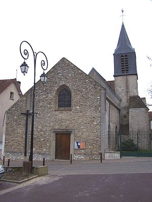 Buc, Yvelines - Church of St John the Baptist