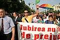 Bucharest GayFest 2006 parade.jpg