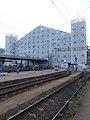 Budapest-Nyugati train station, wrapped, 2020 Terézváros.jpg