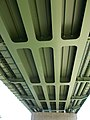 Budapest northern railway bridge, underside, 2016 Aquincum.jpg