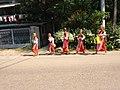 Buddhist female monk IMG 20180407 091913 yan aye street bahan yangoon.jpg