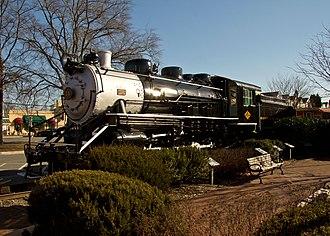 Buffalo Creek and Gauley Railroad - Image: Buffalo Creek & Gauley 2 8 0 Gaithersburg